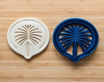 Palm Islands.  Cookie cutters. Gingerbread and cookies. Cupcake topper