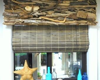 Custom Made Driftwood Valance