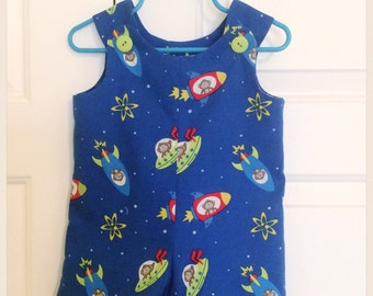 Baby Boy Outfit -Baby Boy Summer Clothes-Baby Boy Romper-Baby Boy Jon Jon
