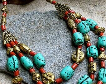 Sashi Beaded Necklace