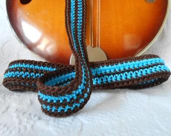 Handmade Mandolin or Ukulele Strap