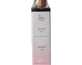 Brahmi Oil (USDA Certified Organic) - Gopala Ayurveda