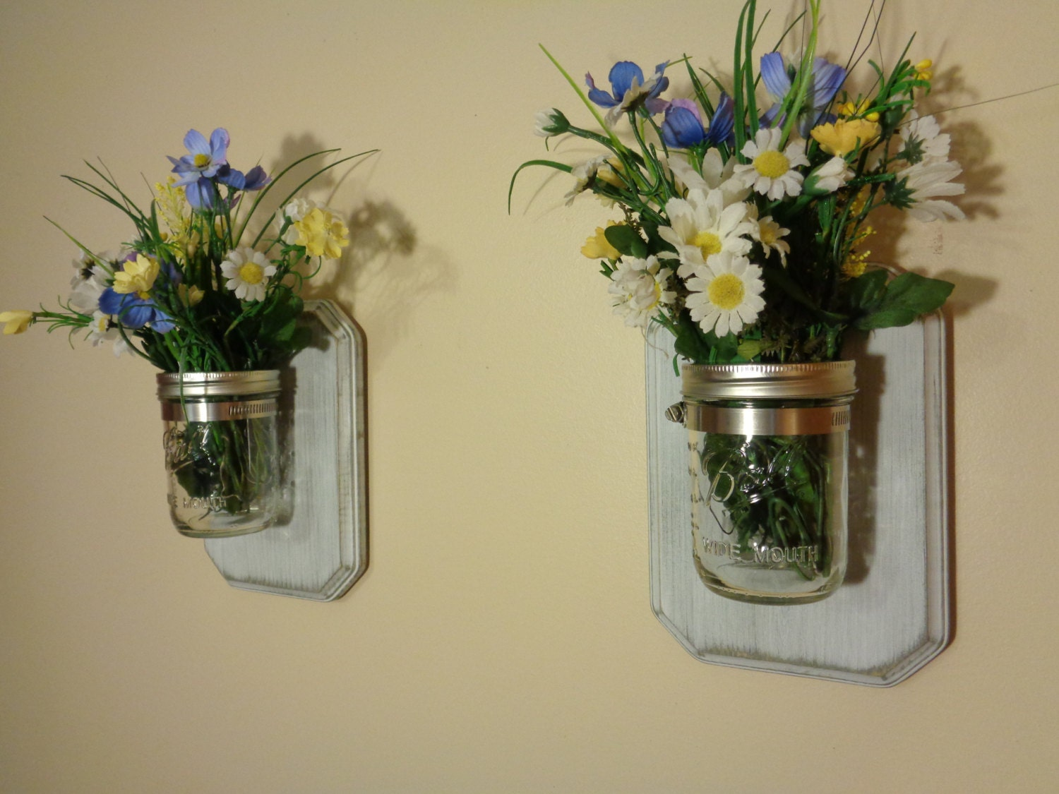 Wall Sconces Planters : Sconce Wall Sconce Planter Wall Vase by BriarRidgeCreation