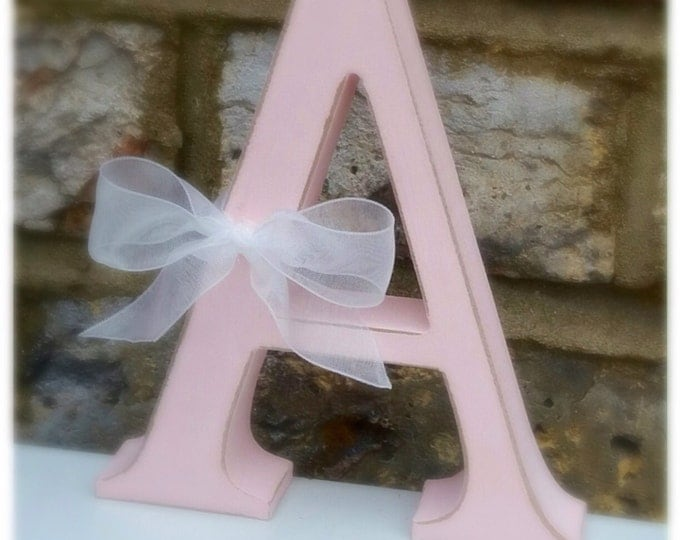 Letters | Free standing letter | Size 13cm | ShabbyChic | Home Decor | Any colour | Home sign, love, dream sign