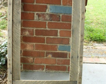 Frame,rustic frame,picture frame, photo frame,wooden frame,wood frame,8x11 frame,repurosed wood frame,distressed frame,reclaimed wood frame