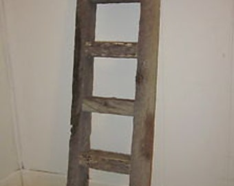 Rustic ladder,antique ladder,barn wood ladder,country ladder,farmhouse ladder,towel ladder ,quilt rack,blanket ladder,wood ladder