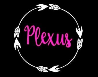 Plexus Car Decal Etsy - Vinyl decals car