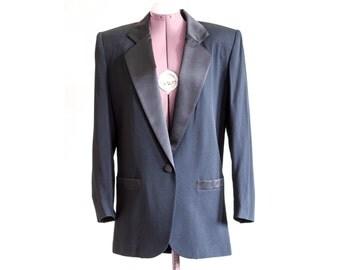 Oversize tuxedo blazer SIZE 8 new with tags