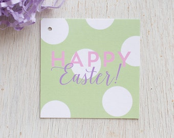 Easter Gift Tag, Easter Basket, Happy Easter, Gift Wrap, Spring Holiday, Easter Egg Hunt, Spring Gift Tag, Hoppy Easter Tag
