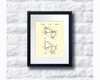 Vintage Lacrosse Goal Posts Invention Patent Drawing Art Print # 4 wall Art  gift for her, Gift for Lacrosse Mom. Gift for Lacrosse Coach
