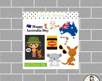 Australian MINI Planner Stickers