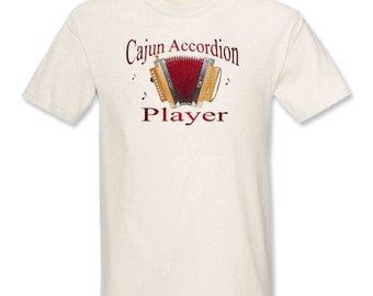 Cajun Accordion Player T-Shirt