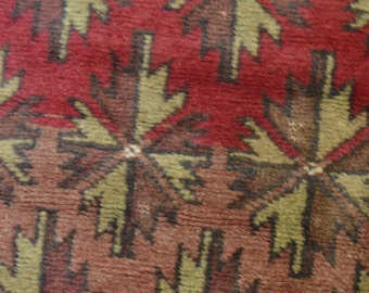 Antique Tribal Faded Color Carpet