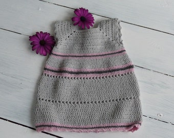 Newborn handmade dress