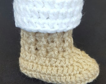 Crochet baby boots, tall baby boots, baby winter boots, baby shoes, baby boy boots, baby girl boots, baby booties, handmade, crochet