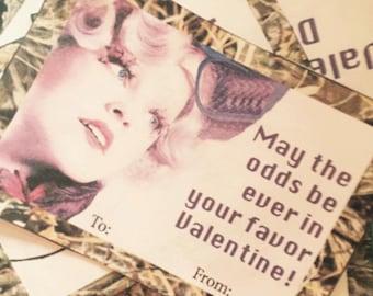 50% off! - Hunger Games Printable Valentines