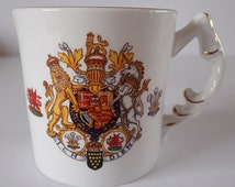 Royal Wedding of Prince Charles and Lady Diana Spencer Commemorative Mug by Aynsley