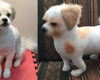 Soft Sculpture Dog, stuffed animal pet replica, replica stuffed pet clone, pet into a stuffed animal, turn dog into stuffed animal pet plush
