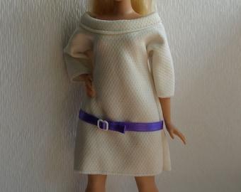 Curvy doll clothes - retro style dress, summer dress, NO VELCRO