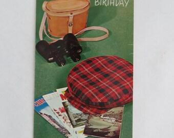 Vintage Birthday card - unused