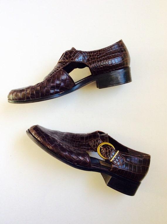 Vintage Leather Sandals 7