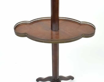 French Two Tier Dessert Stand
