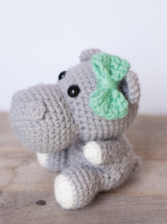 PATTERN: Crochet hippo pattern amigurumi by ...