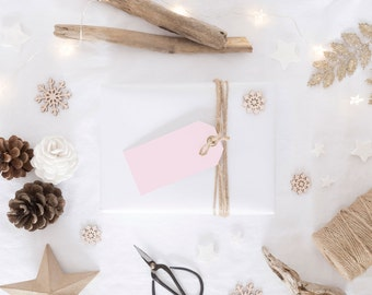 Pale Pink Gift Tags