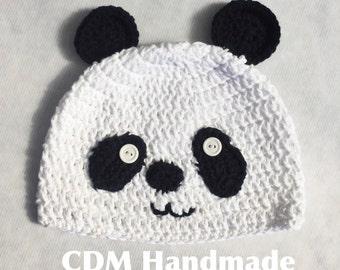 Panda Bear Beanie Hat