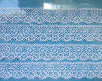 "5/8"" Wide French Maline Lace Edging"