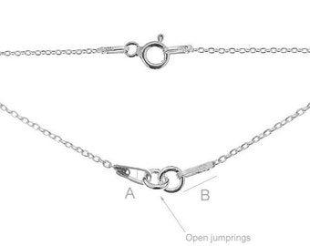 Necklace Finding Sterling Silver 925