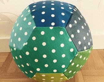 Air balloon sleeve blue/green