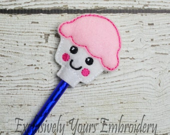 Cupcake Pencil Toppers - Classroom Prizes - Party Favor - Party Supplies - Small Gift - Back to School