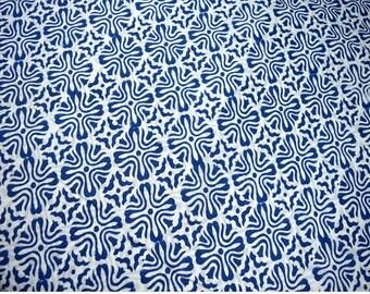 Soft Cotton Fabric by the yard, Hand Printed Fabric, Block Print Cotton Fabric, Hand Stamped Indian Fabric, summer dress cotton fabrics