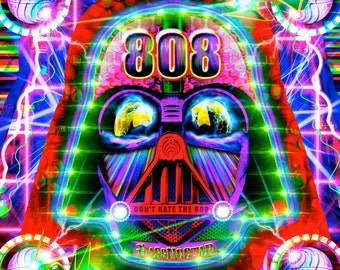 Darth Fader 808 Poster Series