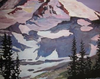 Mount Ranier meadow