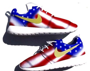 MADE TO ORDER American Flag Custom Nike Roshe One