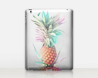 Pineapple Transparent iPad Case For - iPad 2, iPad 3, iPad 4 - iPad Mini - iPad Air - iPad Mini 4 - iPad Pro