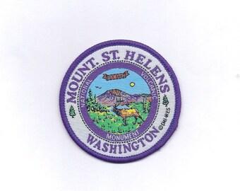 Vintage Mount St. Helens Washington Patch