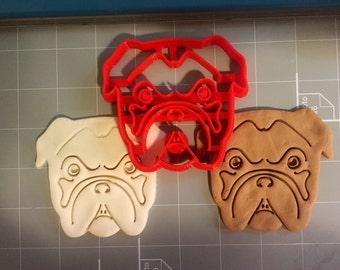 Bulldog Cookie Cutter