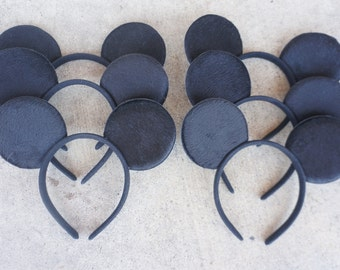 Set of 12 Inspired Disney Mickey Mouse Ears Great for Birthday Party Favors Goodie bag fillers Birthday Hats Disneyland Family trip
