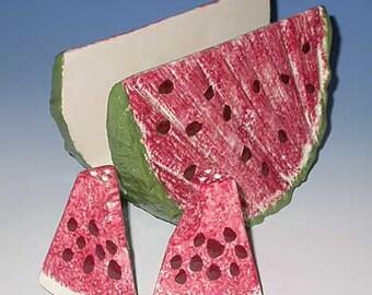 Watermelon Napkin Holder, New Ceramic