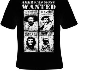 t-shirts :americas most wanted