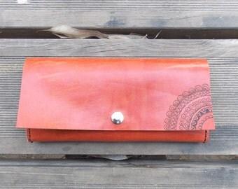 Leather wallet, woman wallet, leather woman wallet, girl wallet, leather girl wallet,