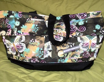 Whimsical Butterfly Display Purse/Tote