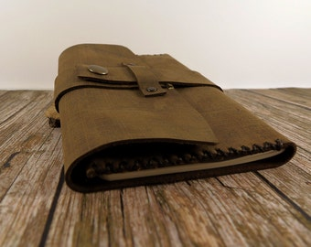 Leather notebook cover, Leather moleskine Cover, Leather Journal Cover, field notes cover, journal, Moleskine / Fieldnotes Cover