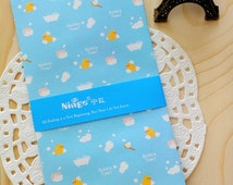 Kawaii RUBBER DUCKY Mini Bitty Paper Gift Favour Party Bags / Envelopes/5 PCS