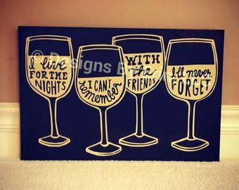 The Perfect Design for Friends who love WINE!