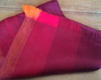 Alpaca shawl made in Ecuador
