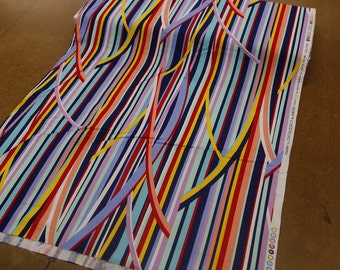 Crazy Stripe Quilting Fabric By The Yard